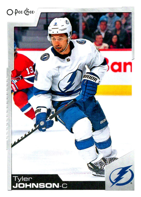 2020-21 O-Pee Chee Tyler Johnson Tampa Bay Lightning