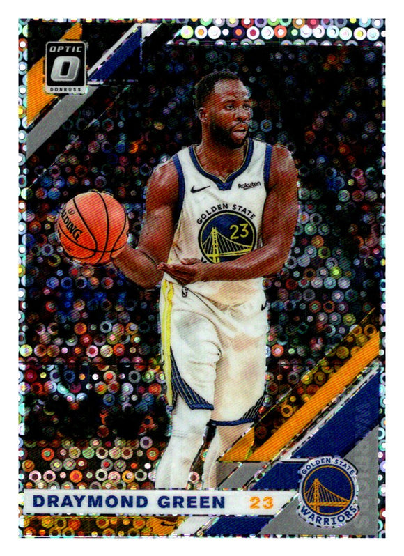 2019-20 Panini Donruss Optic Fast Break Prizm Draymond Green Golden State Warriors