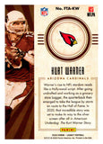2020 Panini Legacy One For The Ages Green /100 Kurt Warner Arizona Cardinals