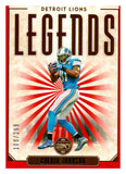 2020 Panini Legacy Legends Red /299 Calvin Johnson Detroit Lions