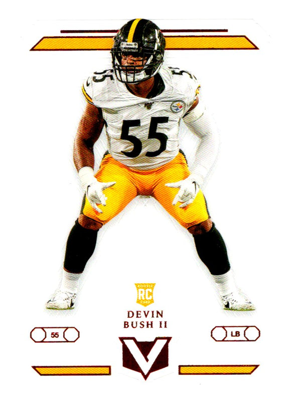 2019 Panini Chronicles Vertex Rookie Devin Bush Pittsburgh Steelers