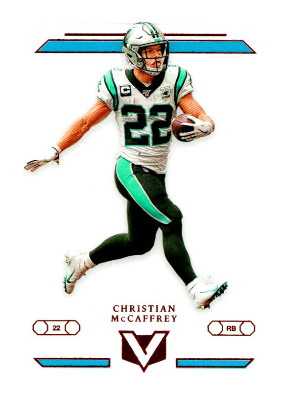 2019 Panini Chronicles Vertex Christian McCaffery Carolina Panthers