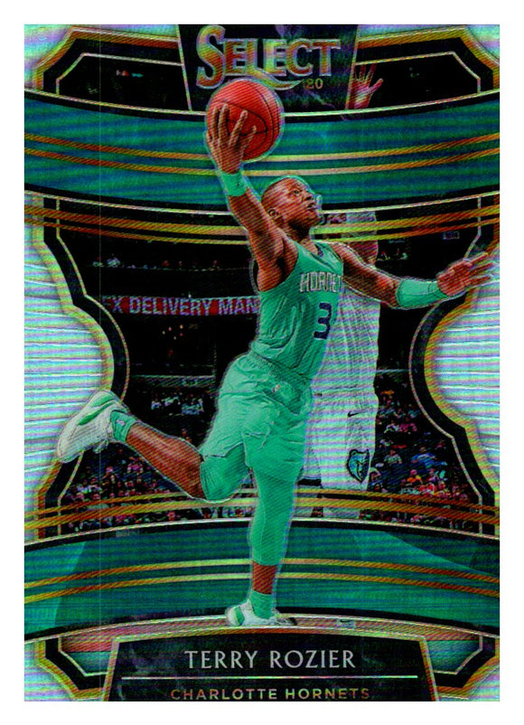 2019-20 Panini Select Concourse Silver Prizm Terry Rozier Charlotte Hornets