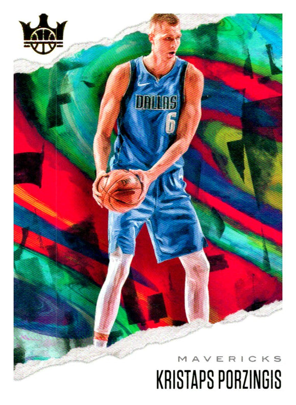 2019-20 Panini Court Kings Kristaps Porzingis Dallas Mavericks