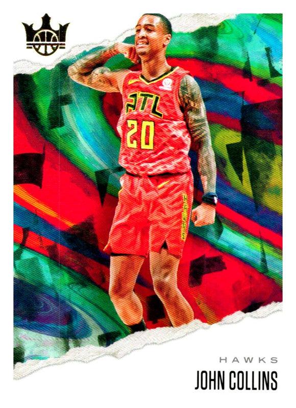 2019-20 Panini Court Kings John Collins Atlanta Hawks