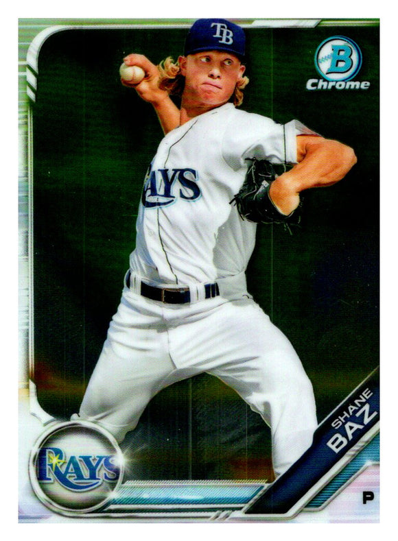 2019 Bowman Chrome Prospects Shane Baz Tampa Bay Rays