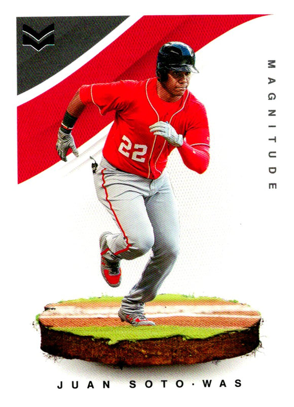 2020 Panini Chronicles Magnitude Juan Soto Washington Nationals