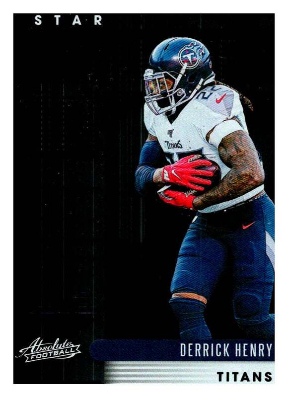 2020 Panini Absolute Star Gazing Derrick Henry Tennessee Titans