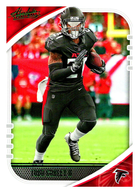 2020 Panini Absolute Green Parallel Todd Gurley Atlanta Falcons