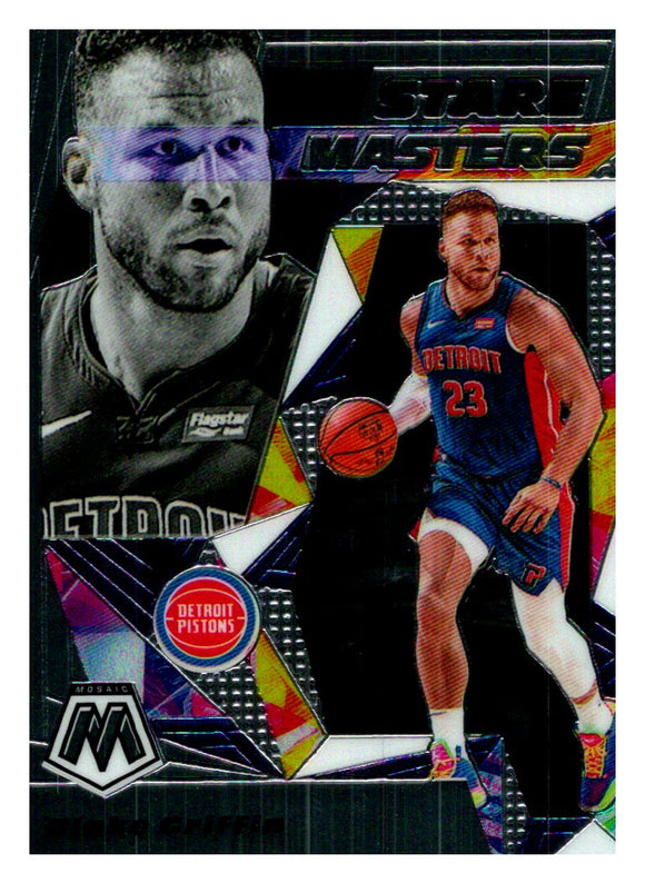 2019-20 Panini Mosaic Stare Masters Blake Griffin Detroit Pistons