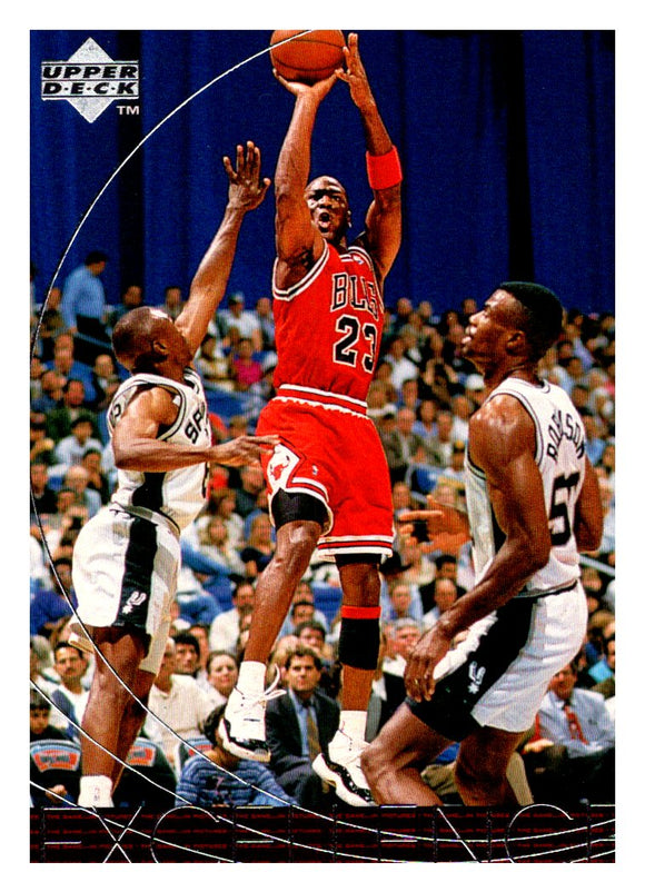 1996 Upper Deck Excellence Michael Jordan Chicago Bulls