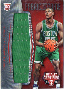 2015-16 Panini Jordan Mickey Fabrics Of The Game Jersey Card #/199 Boston Celtic - JM Collectibles
