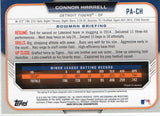 2015 Bowman Connor Harrell Rookie Autograph Card Detroit Tigers - JM Collectibles
