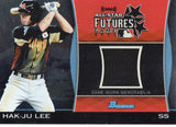 2011 Bowman Draft Hak-Ju Lee All Star Futures Jersey Card Chicago Cubs - JM Collectibles