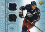 2007-08 Upper Deck Ice Sergei Fedorov Dual Jersey Card Columbus Blue Jackets - JM Collectibles
