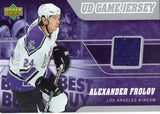 2006-07 Upper Deck Alexander Frolov Jersey Card Los Angeles Kings - JM Collectibles