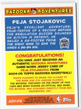 2004-05 Topps Peja Stojakovic Game Worn Jersey Card Sacramento Kings - JM Collectibles