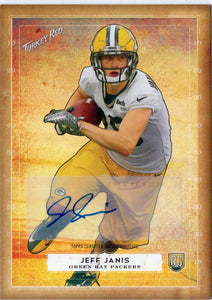 2014 Topps Turkey Red Jeff Janis Rookie Autograph Green Bay Packers - JM Collectibles