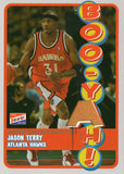 2003-04 Topps Jason Terry Game Used Pants /25 Atlanta Hawks - JM Collectibles