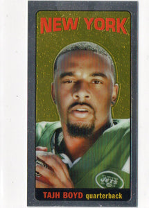 2014 Topps Chrome Tajh Boyd Rookie Card 1965 Tall Boy New York Jets - JM Collectibles