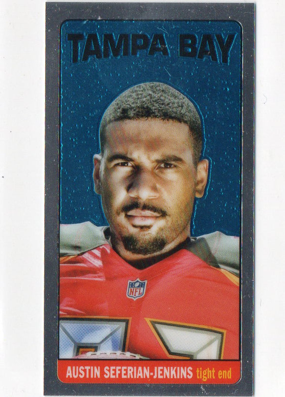 2014 Topps Chrome Austin Seferian Jenkins Rookie Card 1965 Tall Boy Buccanners - JM Collectibles