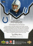 2007 Spx Anthony Gonzalez Autograph Rookie Jersey /399 Indianapolis Colts - JM Collectibles