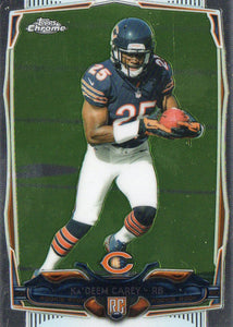 2014 Topps Chrome KaDeem Carey Rookie Chicago Bears - JM Collectibles