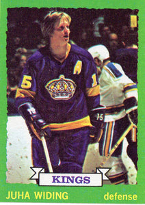 1973 Topps Juha Widing Los Angeles Kings - JM Collectibles