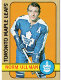 1972 Topps Norm Ullman Toronto Maple Leafs - JM Collectibles