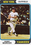 1974 Topps Bobby Murcer New York Yankees - JM Collectibles