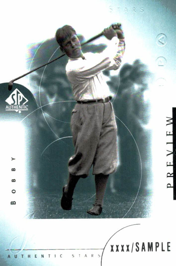 2001 Upper Deck Bobby Jones Preview Golf Card - JM Collectibles