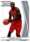 2010-11 Prestige Ed Davis Rookie Card Toronto Raptors - JM Collectibles