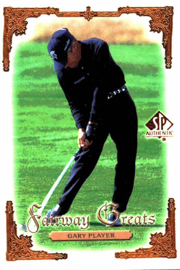 2001 Upper Deck Gary Player Fairway Greats - JM Collectibles