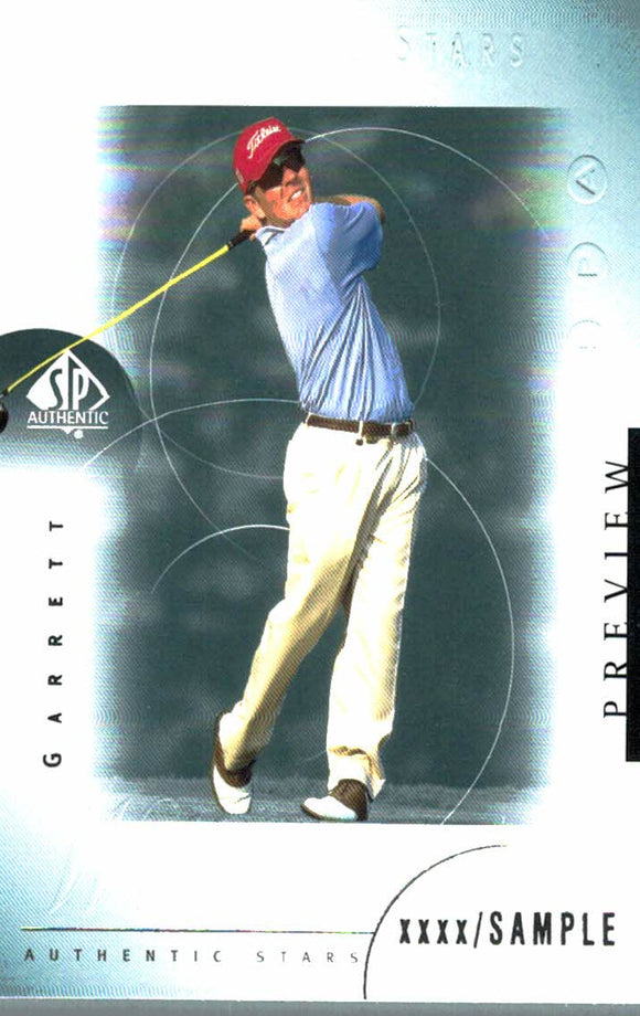 2001 Upper Deck Garrett Willis Preview Golf Card - JM Collectibles