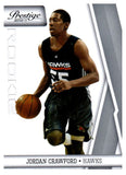 2010-11 Prestige Jordan Crawford Rookie Card Atlanta Hawks - JM Collectibles