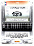 2009 Prestige Jack McClinton Rookie Card San Antonio Spurs - JM Collectibles