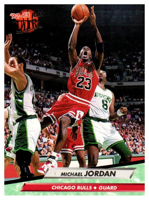 1992-93 Fleer Ultra Michael Jordan Chicago Bulls - JM Collectibles