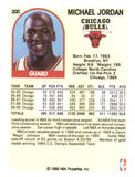 1989 NBA Hoops Michael Jordan Chicago Bulls - JM Collectibles