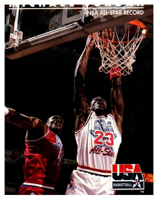 1992 Upper Deck Michael Jordan USA Basketball Chicago Bulls - JM Collectibles
