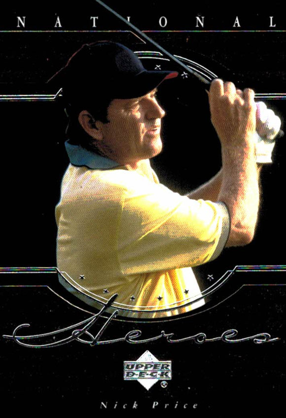 2001 Upper Deck Nick Price National Heroes Golf Card - JM Collectibles
