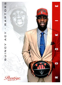 2012-13 Prestige Quincy Acy Rookie Card Toronto Raptors - JM Collectibles