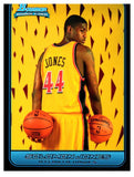 2006-07 Bowman Solomon Jones Rookie Card Atlanta Hawks - JM Collectibles