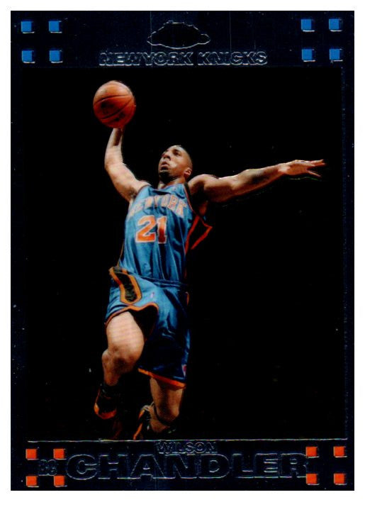 2007-08 Topps Chrome Wilson Chandler Rookie Card New York Knicks - JM Collectibles