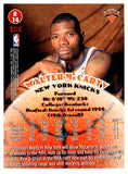 1997 Topps Stadium Club Walter McCarty Rookie Card New York Knicks - JM Collectibles
