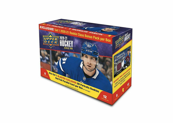 2020-21 Upper Deck Hockey Series 2 Mega Box Factory Sealed Young Guns