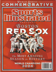 2004 Boston Red Sox SPORTS ILLUSTRATED Commemorative World Series Champions - JM Collectibles