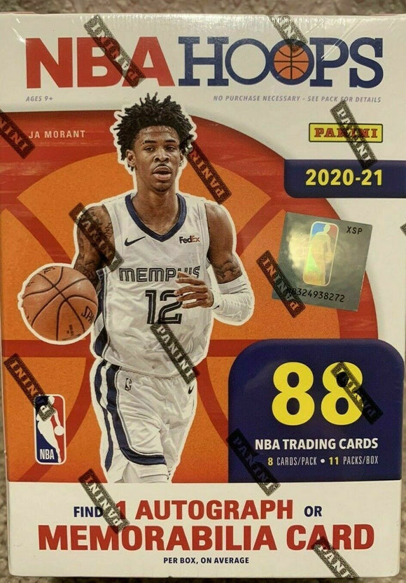 2020-21 Panini NBA Hoops Factory Sealed Blaster Boxes Lamelo Ball Rookie