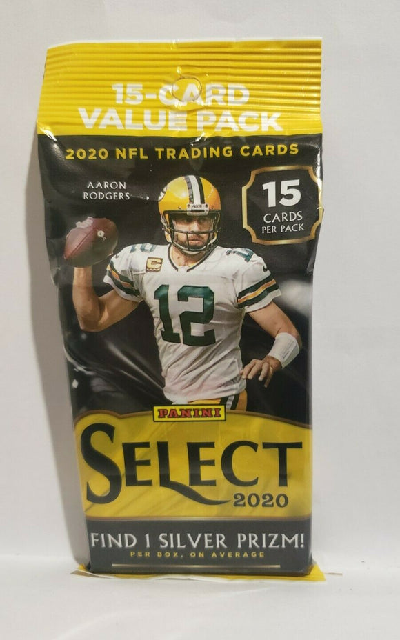 2020 Panini Select Football Fat Cello Packs Factory Sealed