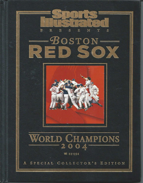 2004 World Series Champions Boston Red Sox Sports Illustrated Collector's Ed - JM Collectibles