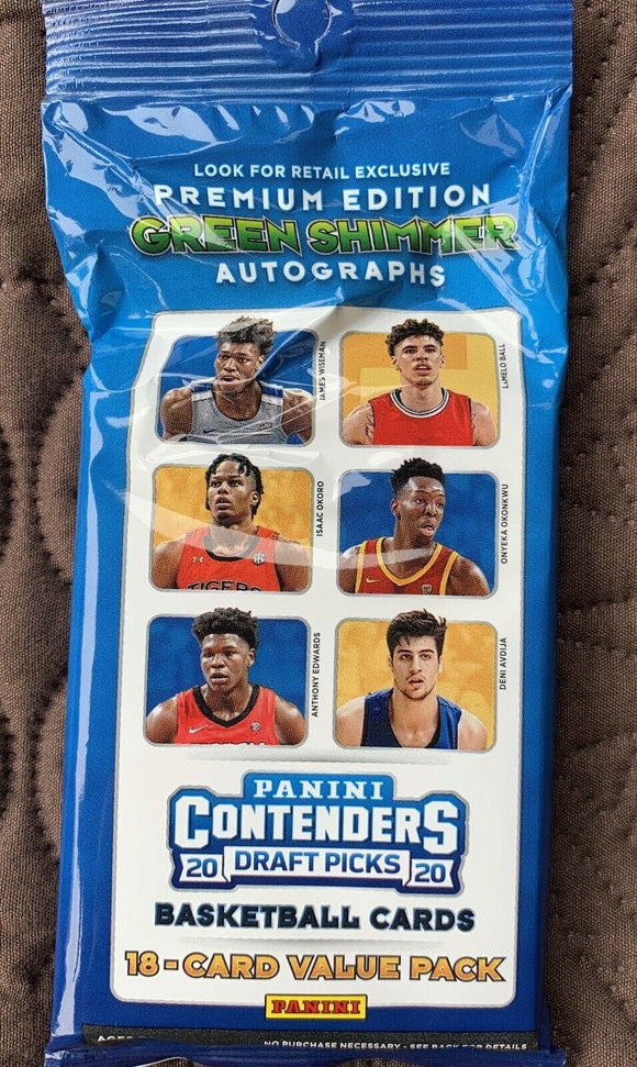 2020 Panini Contenders Draft Basketball Packs